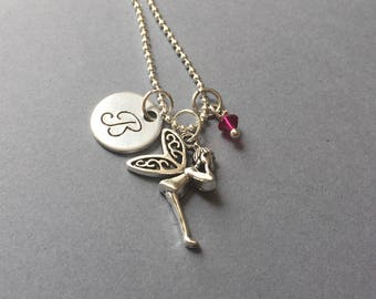 Tinkerbell Necklace-Fairy Necklace-Tinkerbell Gift