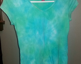 Pastel Tie Dye Siren Song Shirt - Junior Female Size M