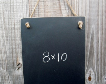 Chalkboard  - Hanging Frameless Blackboard -  Item 1476
