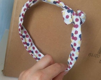 Semi rigid headband