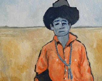 The Orange Shirt