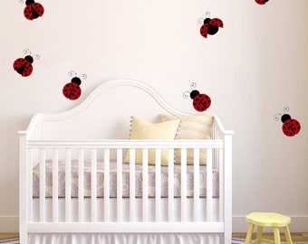 Lady Bugs Wall Decals