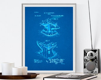 Blacksmith McIntuff Anvil, Patent Prints, Patent Posters, Patent Art, Blacksmith tools, Blacksmith Anvil, Blacksmith Art, Blacksmith forge