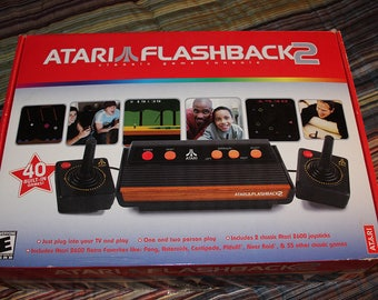 Atari Flashback Game Console with Games included in console