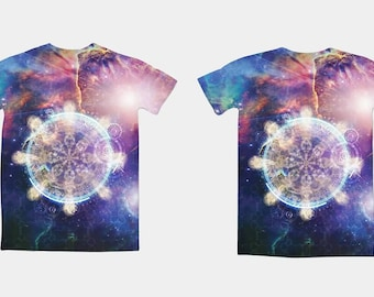 Men's 100% Polyester Dye Sublimation Self Wicking T-Shirt