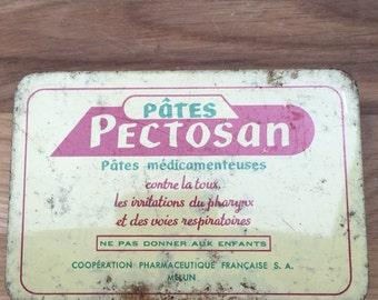 Vintage French Medecine Tin