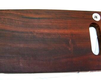 016) Jarrah platter
