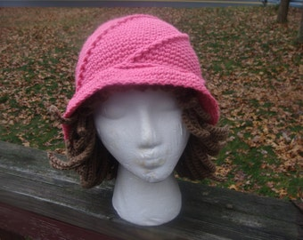 777 Adult Chemo Hat with Yarn Hair
