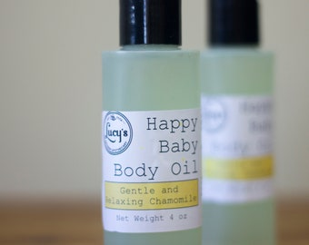 Happy Baby Body Oil