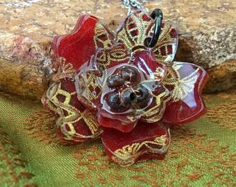 Fabric & Resin Sakrua (Cherry Blossom)
