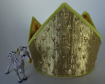 Birthday Crown (Gold & Stars)
