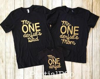 Mr. ONEderful's Mom   Mr. ONEderful's Dad   Team ONEderful   ONEderful Mom   ONEderful Dad   one-der-ful   one derful