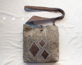 Blue Diamond Messenger Bags