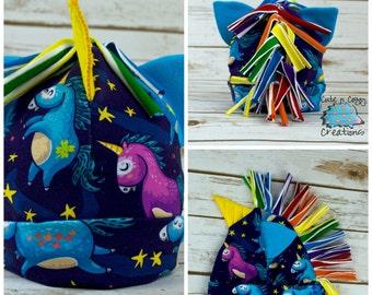 Magical Unicorn hat - ears - horn - rainbow mane - Boy or Girl -Beanie - 3-6 month - cap - Gift - dress up - fantasy - baby shower