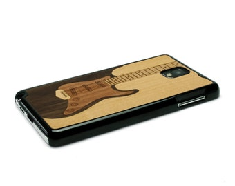 For Samsung Galaxy Note 3 Case Wood Electric Guitar Case Music, Note 3 Case Wood  Note 3 Wood Galaxy Note 3 Case Note 3 Wood