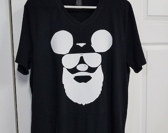 Bearded mickey mouse