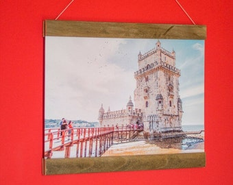 Photo Print picture City of Lisbon, Tower of Belem