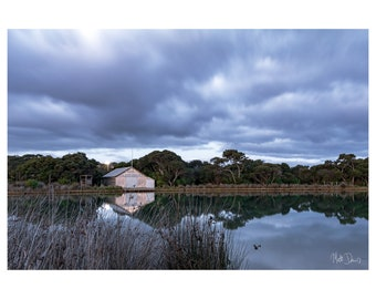 Storm Clouds Over Anglesea - Photographic Landscape Print - A2 - Landscape Photography