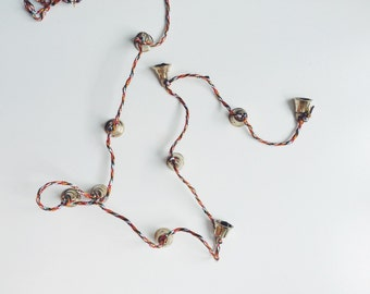 Vintage Brass Chime Bells String