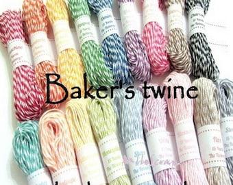 baker's twine embellishment scrapbooking cardmaking 18 m *.