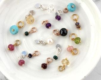 Gemstone Birthstone Charms