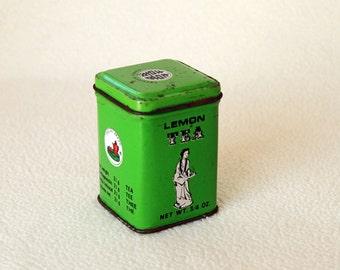 LEMON TEA TIN - from Kwong Sang Tea Co. Hong Kong