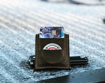 Card wallet with money clip