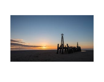 St Annes Old Pier Sunset