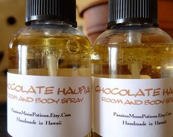 Chocolate Haupia Room and Body Spray 2oz