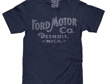 Tee Luv Ford Motor CO. Detroit Michigan Men's T-Shirt