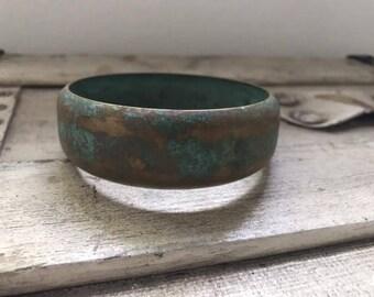 Green Patina Bracelet