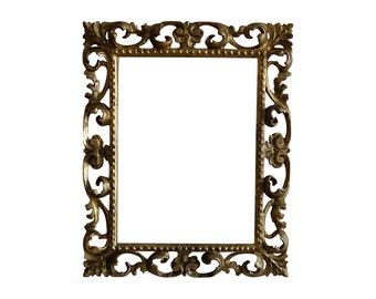 Old Italian Gilt Wood Frame