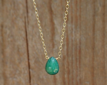 Emerald Necklace May Birthstone