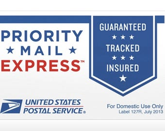 Priority Express Shipping 2 Day Shipping
