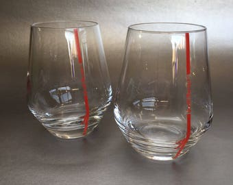 2 Of 4 Rare C&S Chef and Sommelier Grand Marnier Brandy Crystal Tasting Glasses