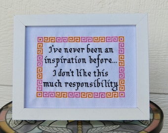 I've Never Been an Inspiration...