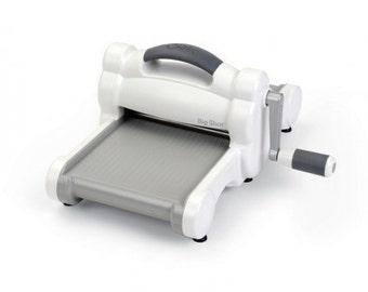 Sizzix 660425 Big Shot Cutting/Embossing Maching, White and Grey