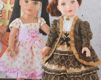 """18""""  Doll Clothes Sewing Pattern UNCUT Simplicity 8112 dress"""