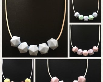 Sensory teething necklaces