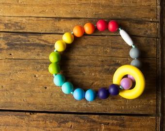 Chompy Silicone Ring Babywearing Teething Accessory