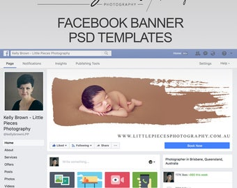 Facebook Cover Banner PSD Templates | Kelly Brown