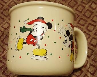 Walt Disney Classics Mug Mickey Mouse Christmas Hallmark
