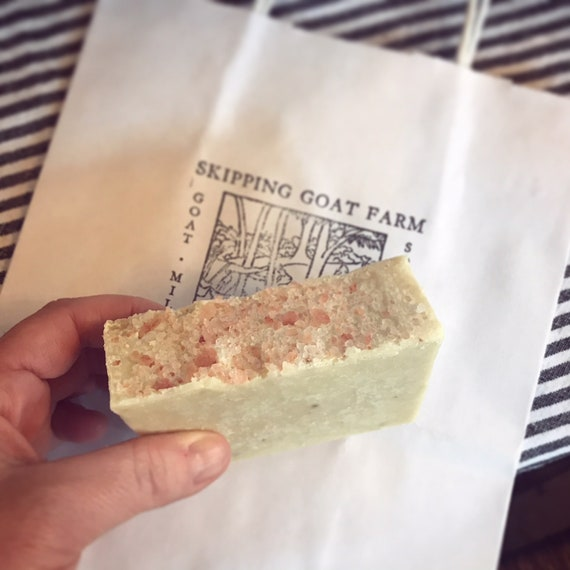 Sea Salt and Sacred Herb Goat Milk Soap