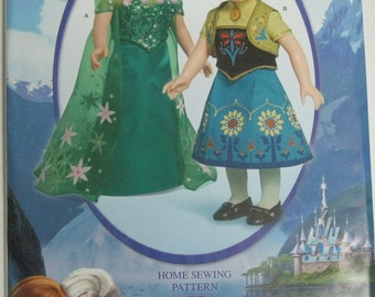 """Simplicity Pattern #S0365   18"""" Doll Clothes"""