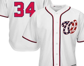 Washington Nationals Bryce Harper Jersey  New With Tags   Mejestic Cool Base Model  mens size XL