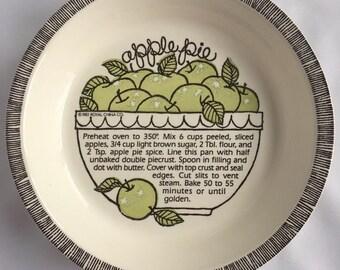 Apple Pie Baking Dish Royal Jeanette USA