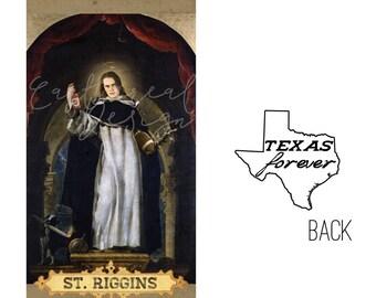 Saint Riggins // Friday Night Lights Tim Riggins Prayer Candle