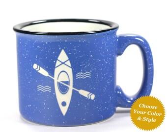 Kayak Mug - Choose Your Cup Color