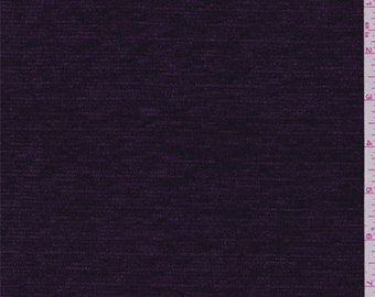 Purple Chenille, Fabric By The Yard