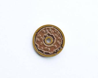 Maple Doughnut Pin